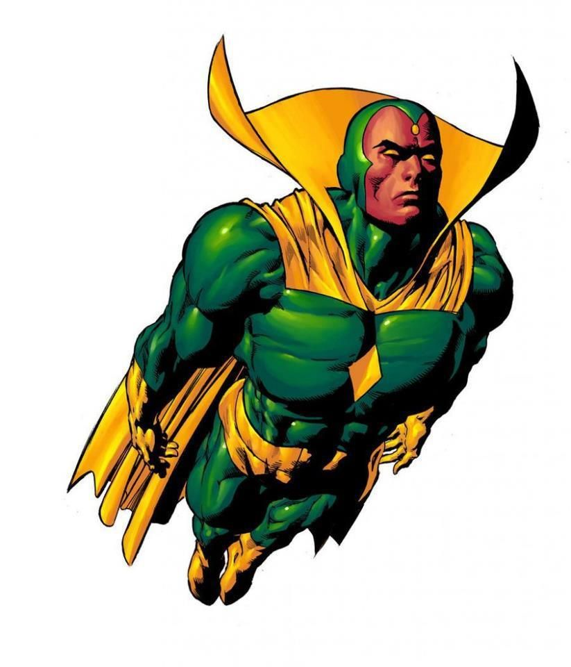 Marvel Comics Vision Marvel Comics Vision