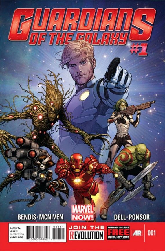 Marvel NOW Guardians of the Galaxy 001Cover 570x864 How Iron Man 3 May Help Launch Guardians of the Galaxy