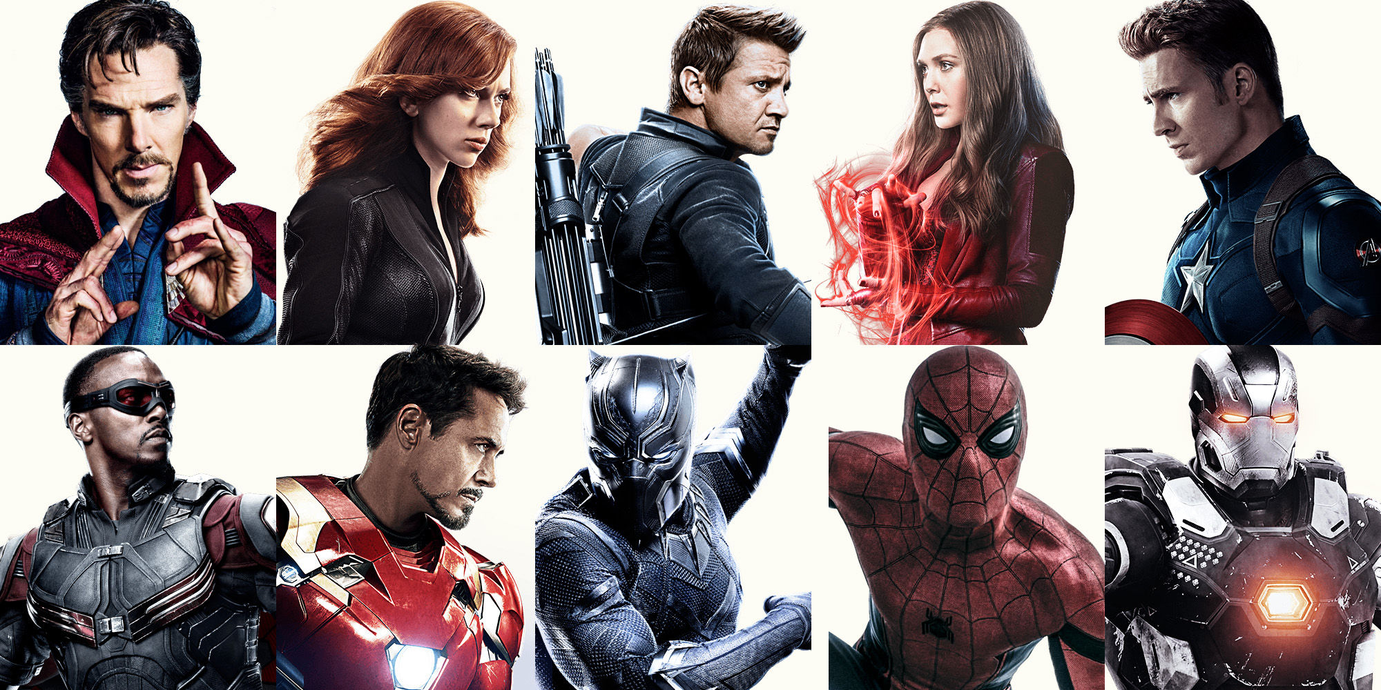Avengers 3 characters