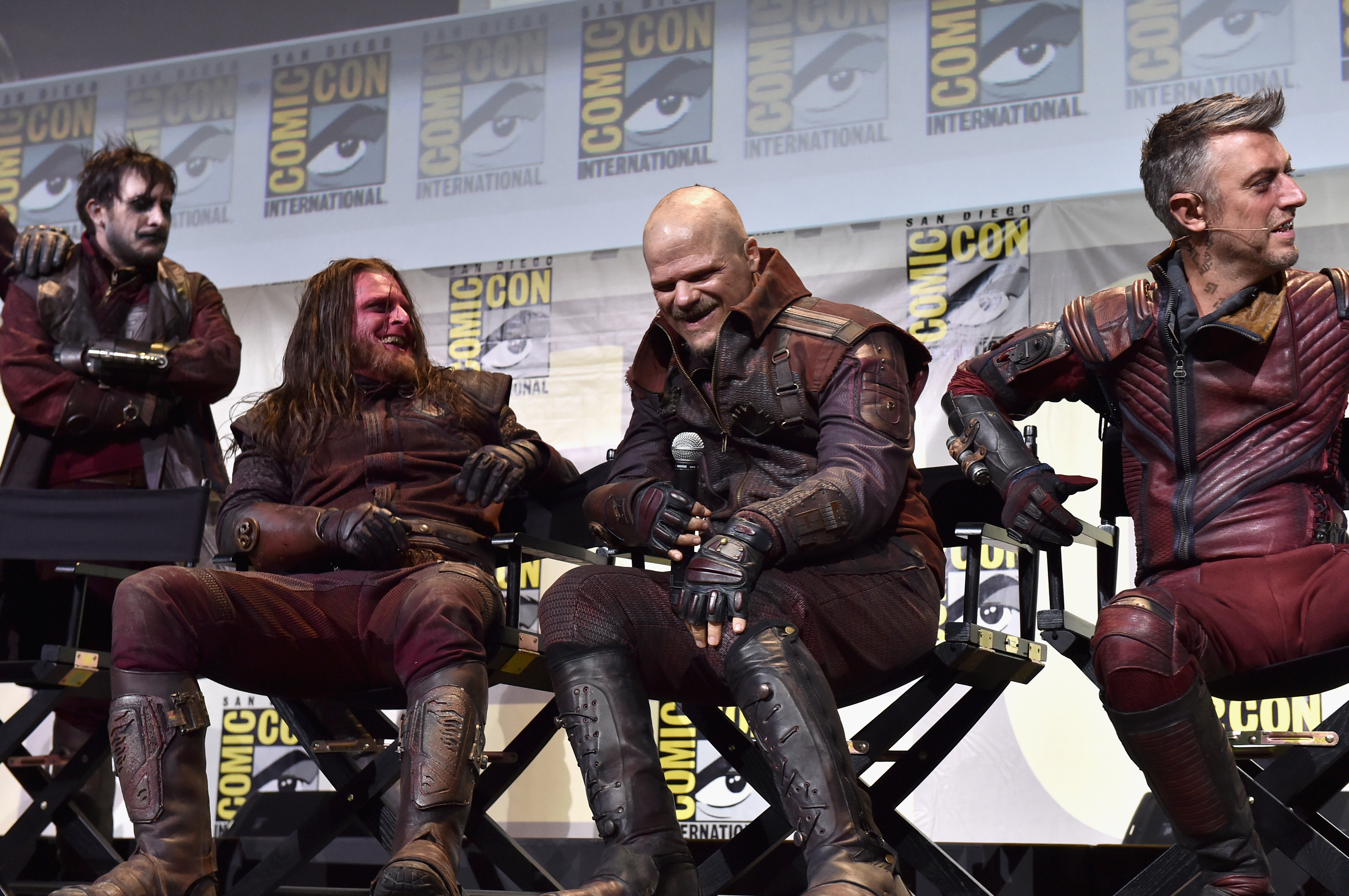 Meet the guardians of the galaxy 2 ravagers cast