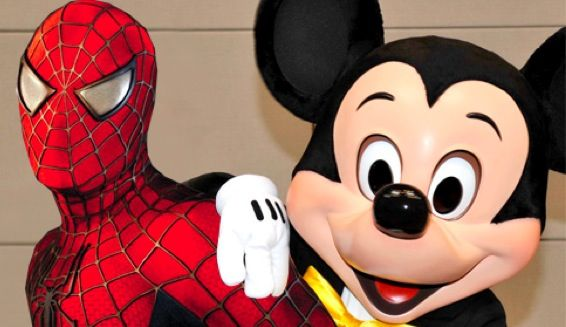 Marvel Marvel Characters To Appear At Disney Theme Parks