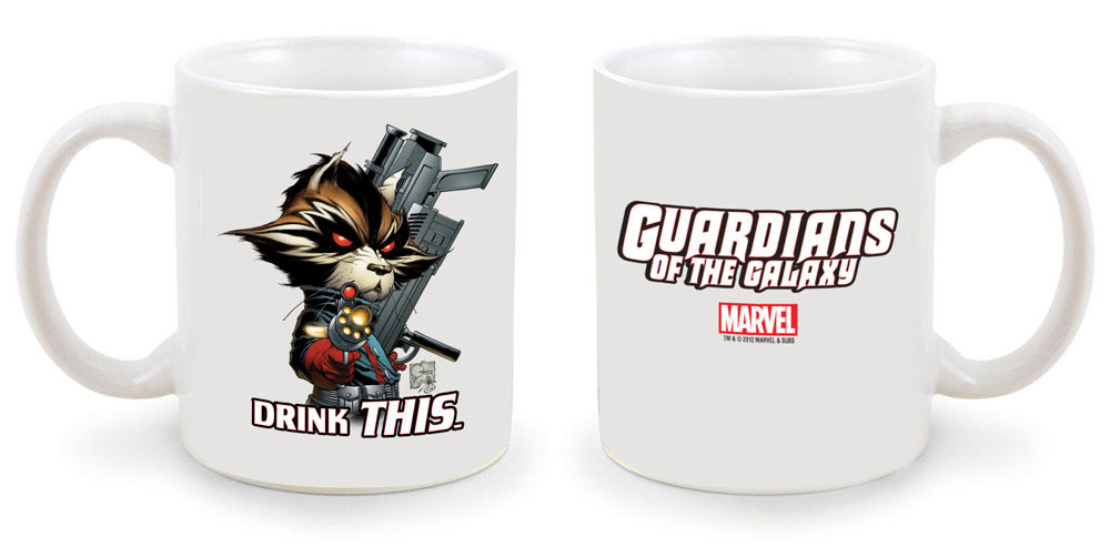 Marvel NYCC GuardiansOfTheGalaxyMug NYCC 2012: Limited Edition Avengers & Guardians of the Galaxy Collectibles