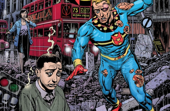 Marvelman vs Kid Marvelman NYCC: Marvel to Reprint Alan Moore & Neil Gaimans Miracleman; Gaiman to Finish Decades Old Story