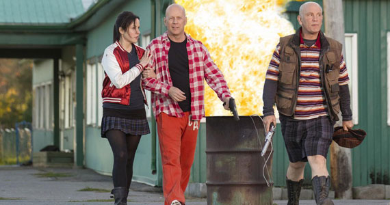 Mary Louise Parker Bruce Willis John Malkovich RED 2 'RED 2' Video Interview: Producer Lorenzo di Bonaventura On Making Blockbusters