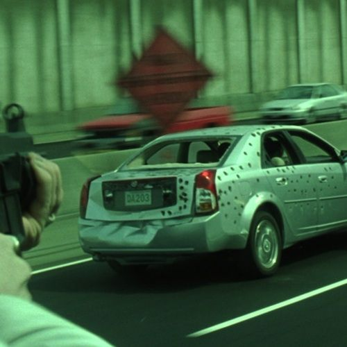 Matrix Reloaded License Plates Best Hidden Messages in Famous Movies
