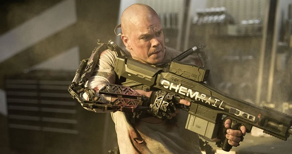 Matt Damon in Elysium1 Matt Damon Wont Play Robin to Batfleck, Responds to Internet Grousing