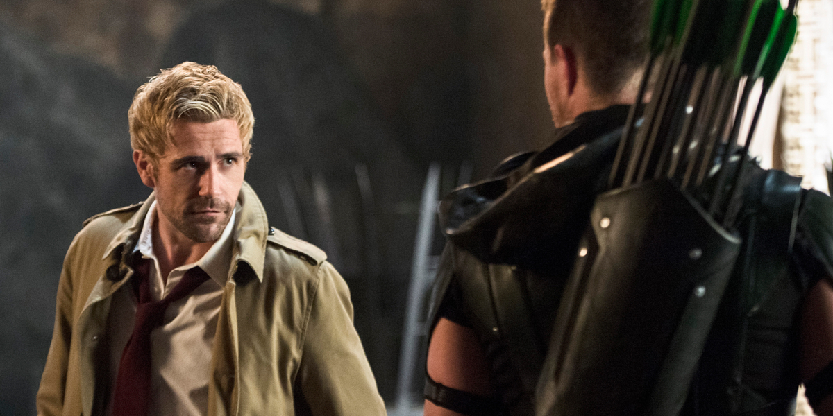 Oliver Queen Tattoo From Constantine: Arrow Producer Says Constantine's Tattoo Will Save Oliver