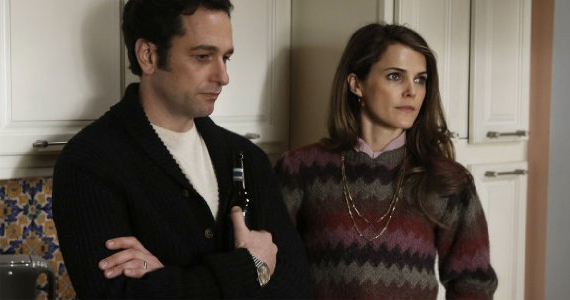 Matthew Rhys and Keri Russell in The Americans Safe House The Americans Season 1, Episode 9 Review – Hitting the Pause Button