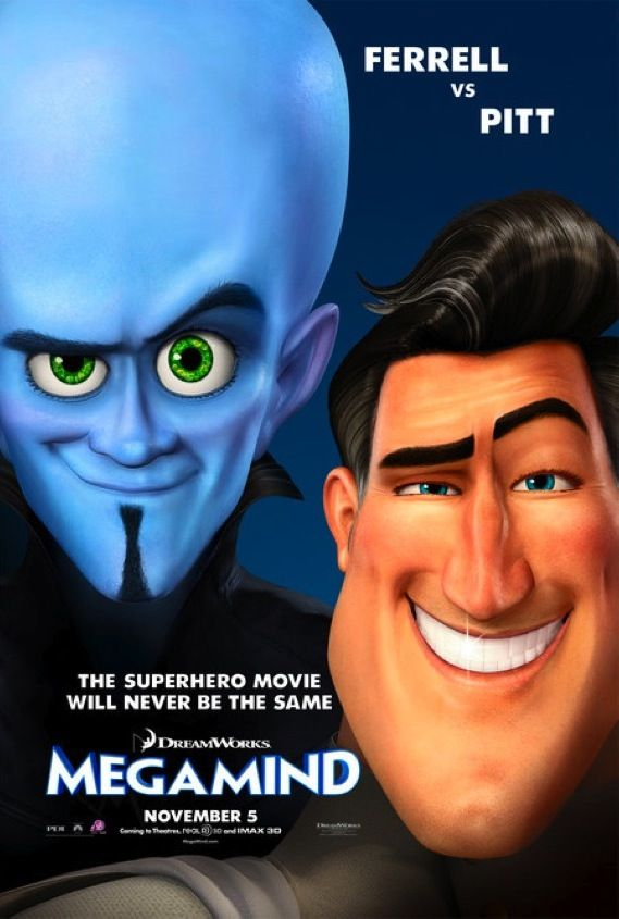 Megamind New Movie Media: Conan, Let Me In, Megamind and More