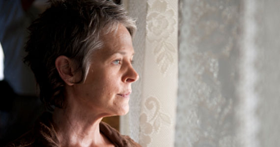 Melissa McBride in The Walking Dead season 4 episode 14 The Walking Dead: Dont Play With Dead Things