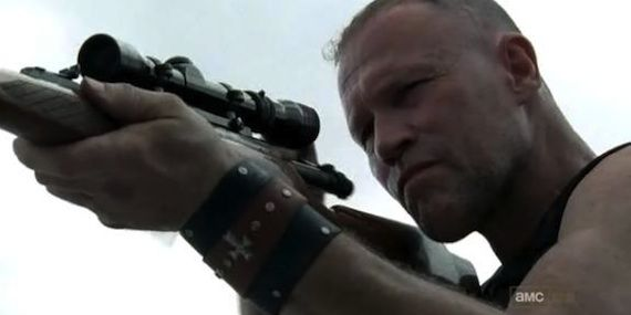 Merle Michael Rooker Walking Dead Exclusive: Michael Rooker on The Walking Dead; Merle NOT The Governor