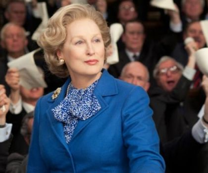 Meryl Streep as Margaret Thatcher Iron Lady