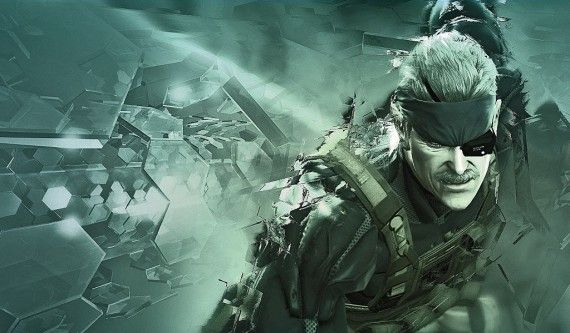 Metal Gear Solid 4 wallpaper 570x333 Metal Gear Solid 4 wallpaper