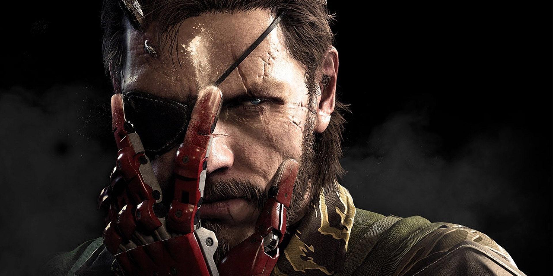 Metal Gear Solid 5 Robot Hand