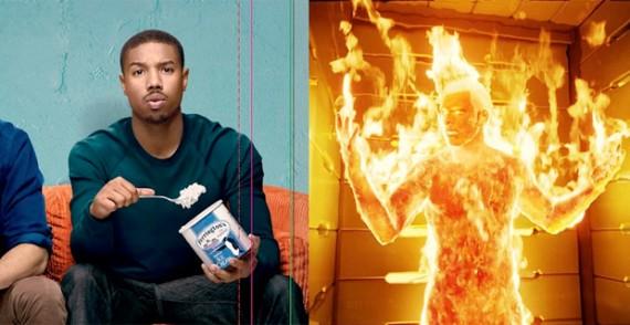 Michael B Jordan Responds to Human Torch Criticism