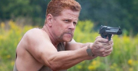 Michael Cudlitz in The Walking Dead 570x294 The Walking Dead Star Michael Cudlitz Discusses New Characters