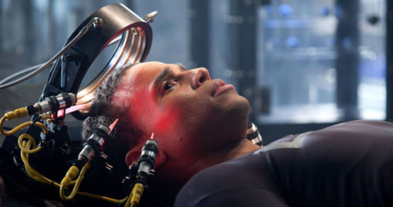 Michael Ealy in Almost Human J.J. Abrams Talks Almost Human; Says CBS Not Interested in Star Trek TV Show