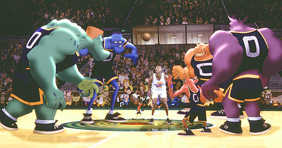 Michael Jordan in Space Jam  LeBron James Wants to Do 'Space Jam 2'
