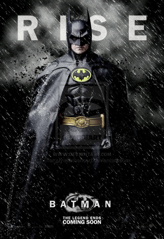 Michael Keaton Dark Knight Rises 570x831 SR Geek Picks: Animated Dark Knight, Tom Waits Joker & Catwomans Last Laugh