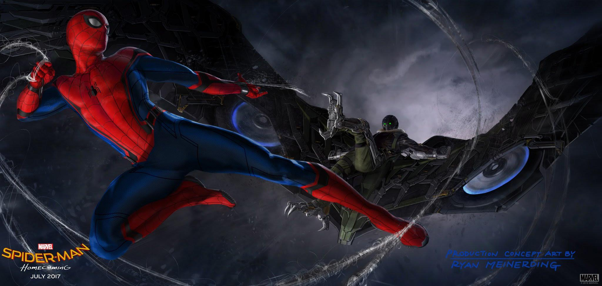 Spider-Man: Homecoming Artwork Confirms The Vulture