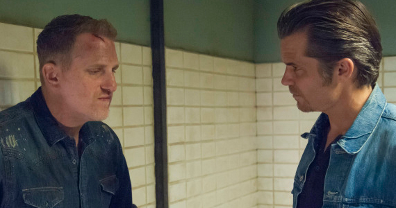 Michael Rapaport Timothy Olyphant in Justified Season 5 Episode 11 Justified: Time To Start Making Some Changes