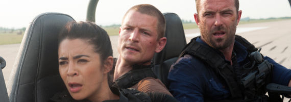 Michelle Lukes Philip Winchester and Sullivan Stapleton in Strike Back S3E10 Cinemax Strike Back Season 3 Finale Review