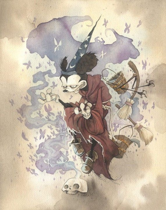 Mickey the Conjurer 570x722 SR Geek Picks: Best Sci Fi Movie Battles, Video Game Food Pyramid & More
