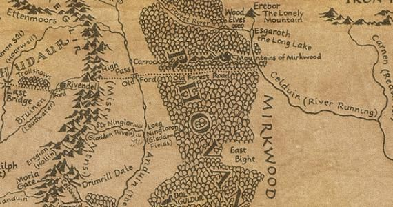 The Hobbit Get Lost In This Interactive Map Of Middleearth