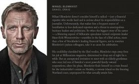 Mikael Blomkvist in Girl With the Dragon Tattoo 280x170 Girl With the Dragon Tattoo: Character Profiles & Score Samples