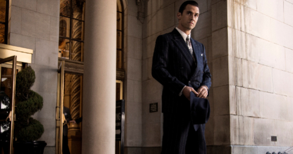 Milo Ventimiglia as Ned Stax in Mob City Season 1 Episode 6 Mob City Season 1 Finale Review