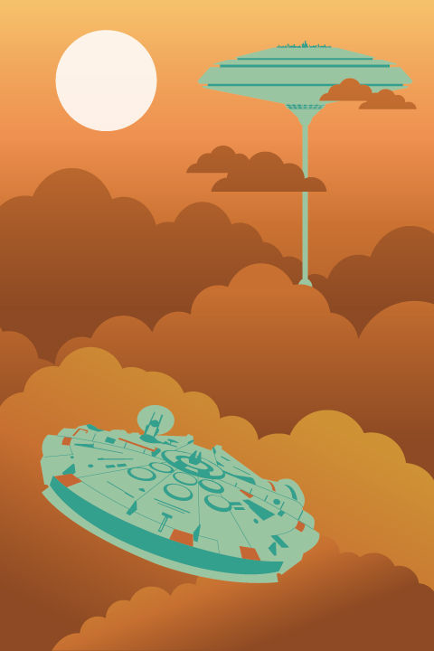 Minimalist Cloud City Minimalist Cloud City