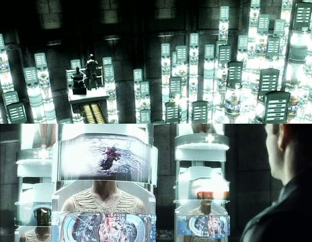 Minority Report Movie Prison