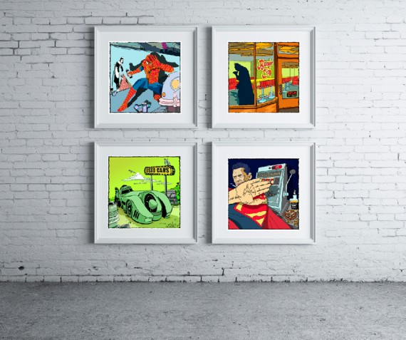 Mioxy 570x477 SR Geek Picks: Best Fictional Principals, Superhero Art Prints & More