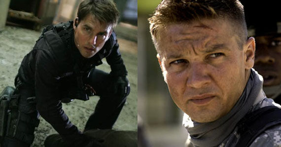 Mission Impossible 4 Tom Cruise and Jeremy Renner Jeremy Renner Confirms Hell Take Over Mission: Impossible Franchise