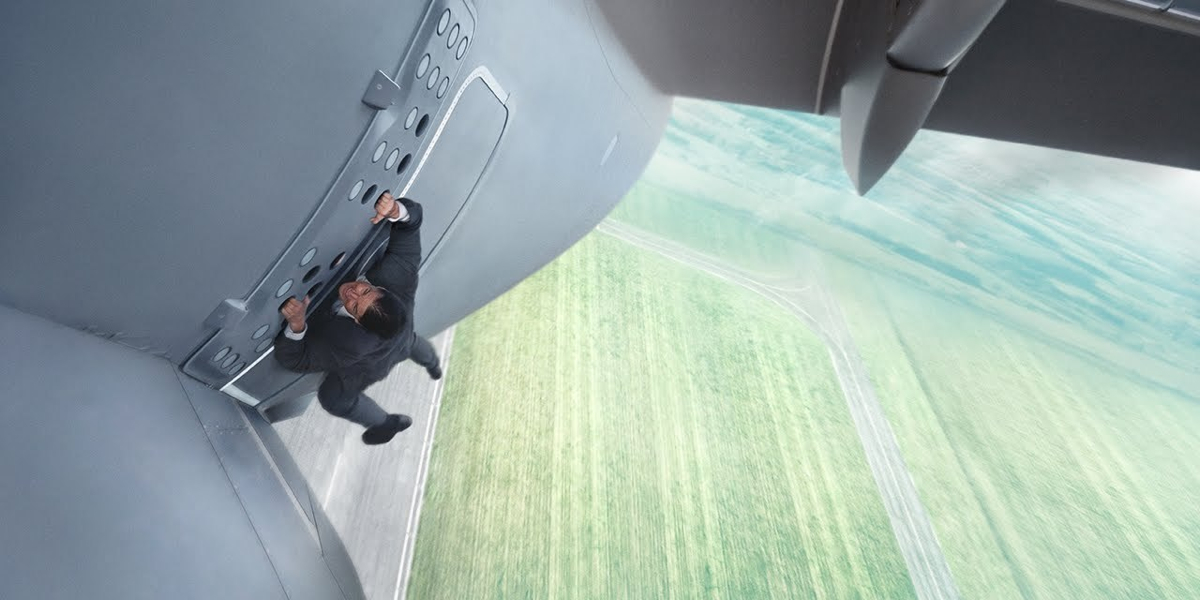 Mission Impossible Rogue Nation TV Spot Tom Cruise Talks - Behind the scenes of the insane plane stunt in mission impossible rogue nation