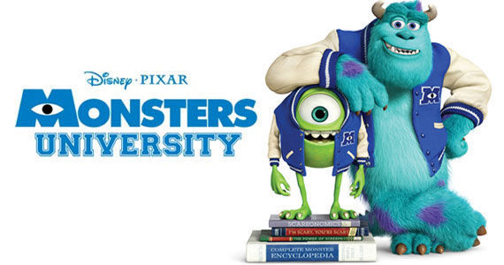 'Monsters University' Character Posters and College Promo ...