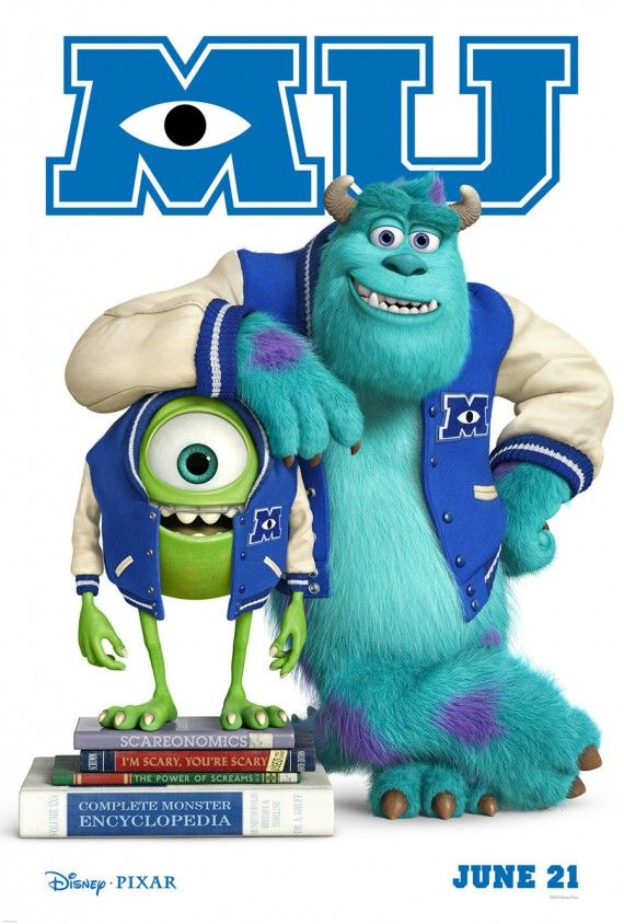 Monsters, Inc. 2 / Monsters University (2013)