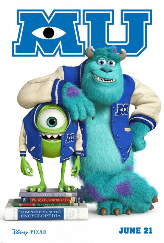 Monsters University Teaser  New Monsters University Images and Posters
