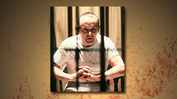 Most chilling movie serial killers Hannibal Lecter The 10 Most Chilling Movie Serial Killers