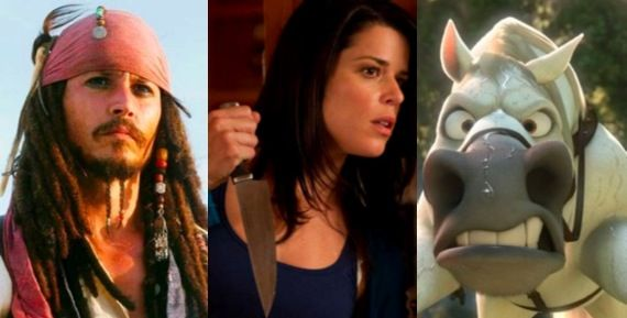 Movie Media Roundup2 Movie Media Roundup: Pirates of the Caribbean 4, Scream 4 & Tangled