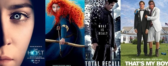 Movie Trailers Clips Images Brave Thats My Boy Host Total Recall Movie Media Roundup: The Host, Brave, Total Recall & Thats My Boy