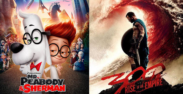 Mr. Peabody vs. 300 Box Office Prediction: Mr. Peabody and Sherman vs. 300: Rise of an Empire