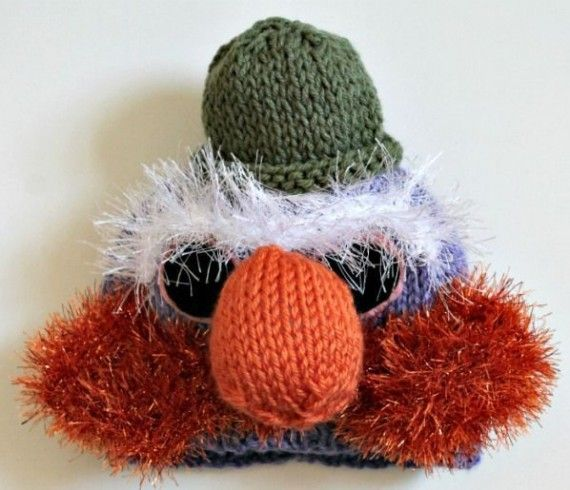 Muppet Knitted Hat 570x490 SR Geek Picks: Disney Wars Mashup, Conan OBrien in Halo 4, Movie Villain Supercut & More!