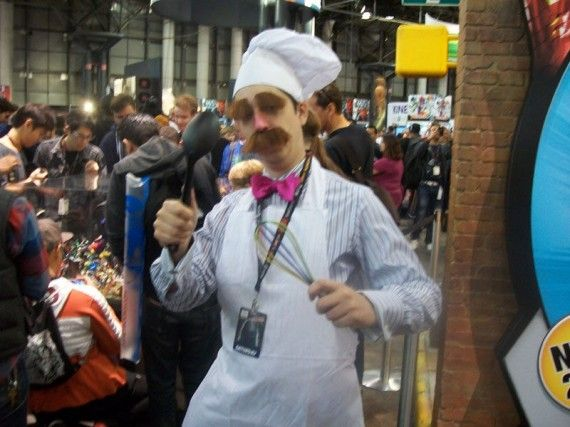 NYCC 2011 Cosplay Swedish Chef 570x427 NYCC 2011 Cosplay   Swedish Chef