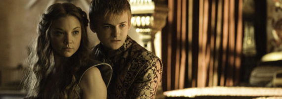 Natalie Dormer and Jack Gleeson in Game of Thrones Dark Wings Dark Words Game of Thrones Season 3, Episode 2 Review – Hes a Monster