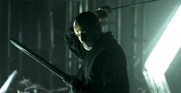 Navid Negahban in Arrow League of Assassins Arrow: Masks and Secrets Cant Hide Things Forever