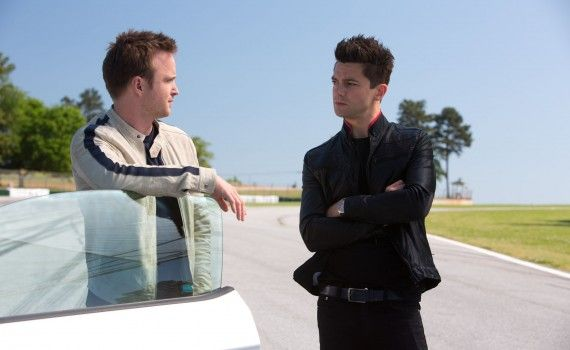 Need For Speed Aaron Paul Dominic Coober Intro 570x350 Need For Speed Interview: John Gatins Talks Story & Sequel Potential