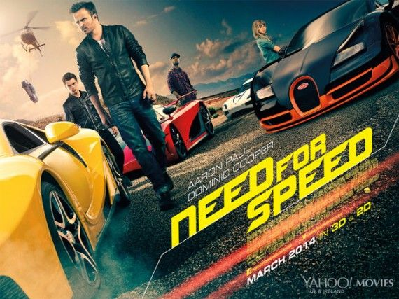 Need for Speed UK quad poster 570x427 Need for Speed Poster & Muscle Cars Featurette