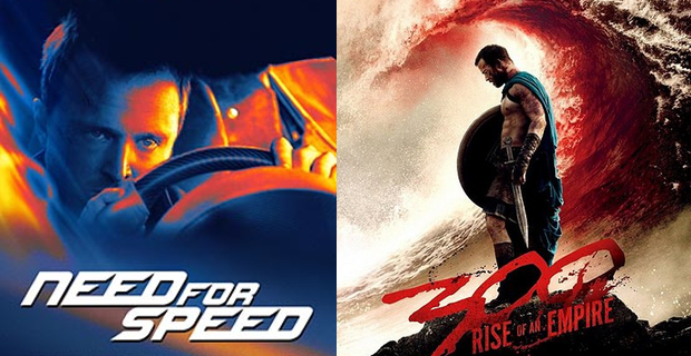 Need for Speed vs. 300 Box Office Prediction: Need for Speed vs. 300: Rise of an Empire