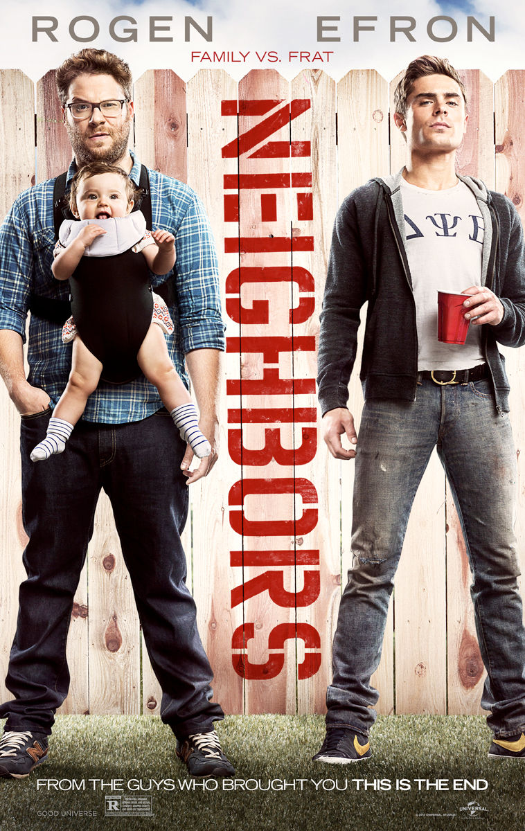 Neighbors 2014 Movie Poster Neighbors (2014) Movie Poster